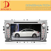 7 inch HD double din car dvd player for ford mondeo with IPOD TV