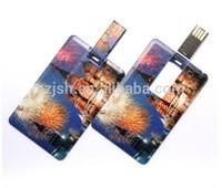 Credit card usb flash memory drive