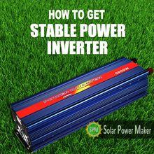 high watte 5000w modify inverter
