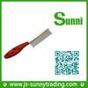 Popular design comb plastic electric pet deshedding brush for pets(good material)