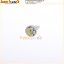 Top seller super brightness License/side/Interior Light 194 168 w5w t10 led 3020 8 SMD