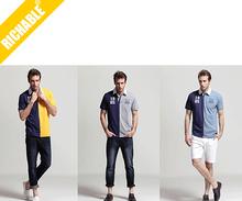 100 cotton polo shirt stock lot