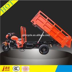 Hydraulic tipper 200cc gasoline tricycle