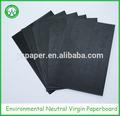 80g à 2500g vierge ou recyclée noir brillant papier