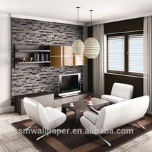 PVC Vinyl brick wallpaper 3d wallpaper for home decoration design wallpaper for home hotel bar decoration,wall paper