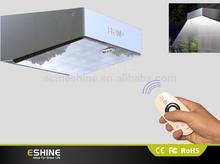 ELS-07RC high lumen solar sensor light portable ROHS stainless steel dim light