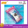 2014 new pvc waterproof plastic bag for mobile phone