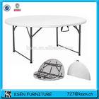 white cheap plastic round tables KC-T77
