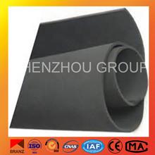 black plastic water pipe roll aeroflex insulation rubber foam