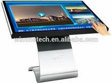 "2014 NEW 55"" digital signage kiosk, digital signage kiosk stand tablet style, digital signage totem for Real Estate"