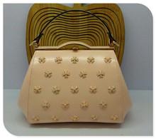 High class leather tote bag fashion pu handbags 2014