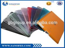 Translucent waterproof hard case ipad for iPad 2 3 4