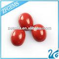 Mejor coral rojo precio forma oval 9 x 11 mm venta al por mayor