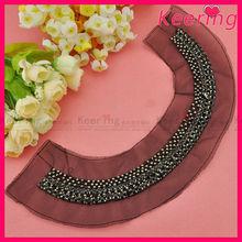 neck cotton collar kurta for garment accessory WN-1336