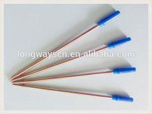 2014 ball jumbo refill ball pen promotional pen red color ballpen metal