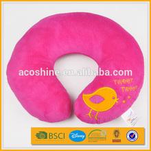 cartoon animal baby stuffed u shape car travel plush neck cushion