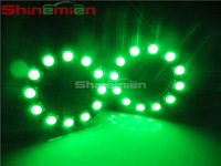 40mm 5050 12smd RGB 12V car led angel eyes halo rings light