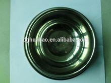 wholesale fashion design 2013 dongguan silicone pet product melamine portable pet food water bowl