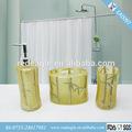 ea0097new 3pc de lujo del árbol de palma de leopardo de la selva cuarto de baño set de accesorios de baño de decoración para el hogar