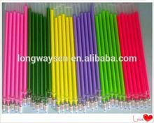 colorful ballpoint metal ball pen/telescopic pen