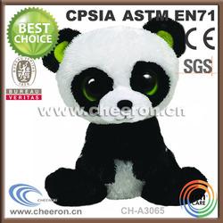 Super cute stuffed & plush panda with big eyes