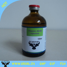 Nutritional medicine for horse Vitamin AD3E injection