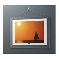 good quality clear acrylic wall hanging picture photo frames wholesale