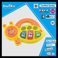 حار بيع البلاستيك لعب اطفال ورضيع الموسيقية مع الضوءالرسوم المتحركة منتج النحل