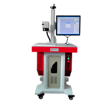 30w Working Gold &Silver Jewellery Metal Fiber Laser Marking Machine For Sale With CE