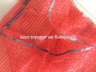 50*80cm raschel mesh bag for packing fruit , orange, firewood,onion ,potatoes