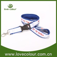 Fashionable lanyard for sporting events/silk screen lanyrd
