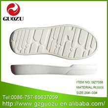 white rubber shoe sole for kids sandal outsole maker