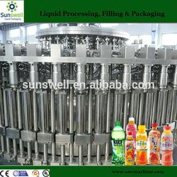 Hot fruit filling machine for juice/tea beverage