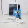 T2-1210W Chinese 10W 12V led light solar power kit with led lamps and mobile charger