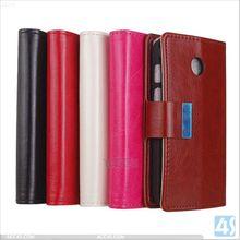 Factory price wallet leather stand case for Motorola MOTO E / XT1022 P-MOTXT1022SPCA004