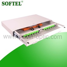 [SOFTEL]Cheap 12 cores odf with lock,rack mount 19 fiber optic odf/12 port optical distribution frame odf,indoor odf cabinet