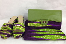 wholesale ankara wax high heel shoes/afafrican wax shoes and bags