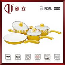7pcs casserole ceramic