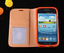 Fezzil Deluxe 2014 Smart View phone cover skin for samsung I9082
