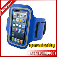 Factory price Mobile phone sport holder waterproof armband bag case for iphone 4 4s