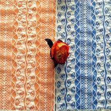 nylon span ruffle lace with ribbon