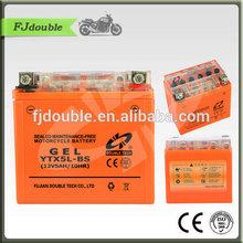 super long life cycle gel motorcycle 12v 5ah batteries