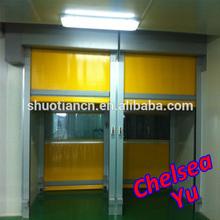 fast action quick interlocking pvc interior shutter doors,quick doors industry