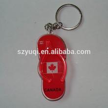 Low price custom promotional keychain acrylic
