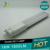 Cheap Price 18W 1800lm double line 2g11 tube light