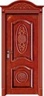 PLAIN SOLID WOOD DOORS MADE IN CHINA
