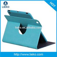New design kickstand rotatable PU leather case for Ipad mini/mini2
