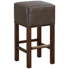 wood frame leather bar stool BC5607
