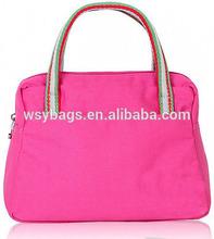 2014 New Style Fashion Latest Ladies Canvas Hand Bag