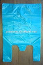 Cheap Giant Blue T-shirt Plastic Bag